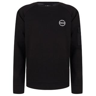 Zwarte trui Crewneck Pocket