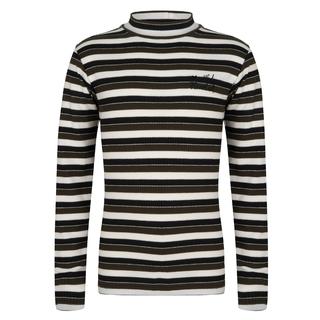 Zwart gestreepte top Striped