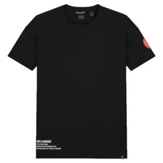 Zwart t-shirt Manoah