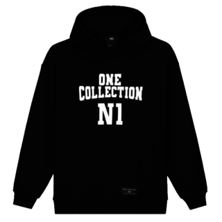 Zwarte hoodie Robin One