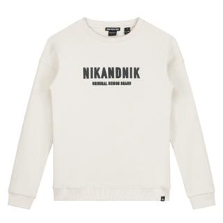 Witte sweater Milo