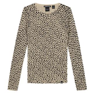 Beige top Jolie Leopard