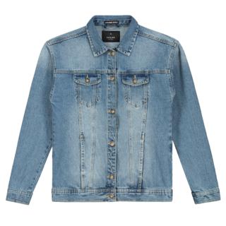 Blauwe denim jacket Fedwina