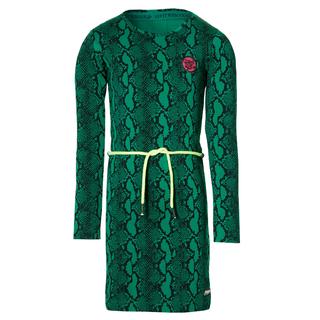 Groene snake jurk Daantje