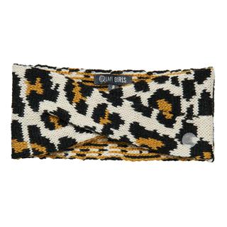 Beige leopard haarband Dylena