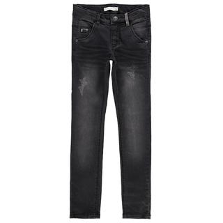 Donkergrijze skinny jeans Trap