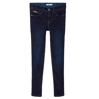 Donkerblauwe jeans Theo Blues