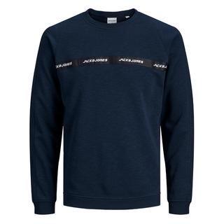 Donkerblauwe sweater Train