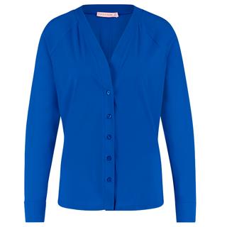 Kobaltblauwe blouse Hannah