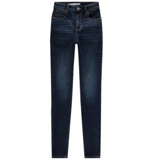 Dark Blue Stone jeans Blossom