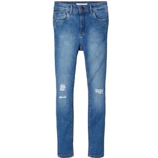 Blauwe highwaist jeans Polly Tin
