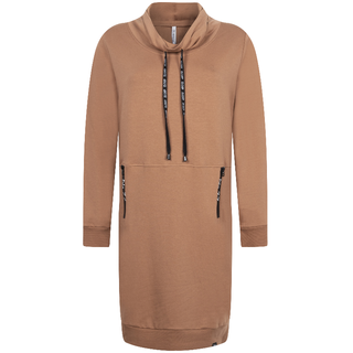 Cognac sweatdress Stacey