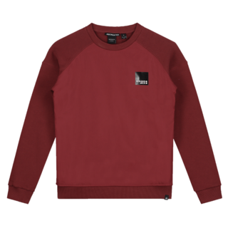 Rode sweater Monzo