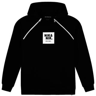 Zwarte hoodie Maks