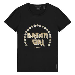 Zwart t-shirt Dream Girl