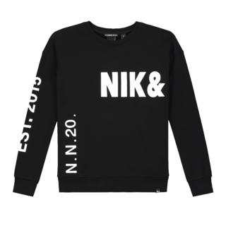 Zwarte sweater Polly Nik&Nik