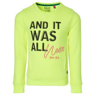 Neon gele sweater Davita