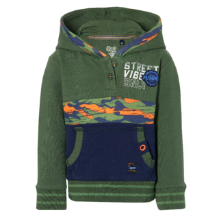 Donkergroene sweater Evon