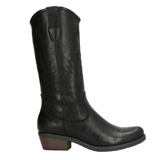 Zwarte western boot F92103