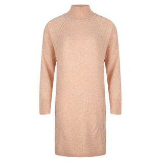 Roze gebreide jurk Yarn