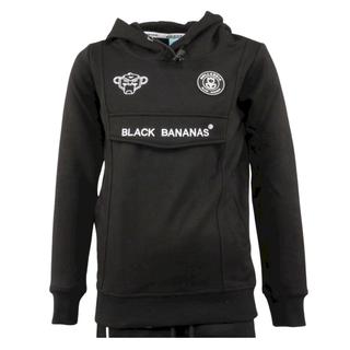 Zwarte hoody Anorak