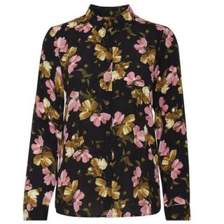Zwart geprinte blouse Celtic