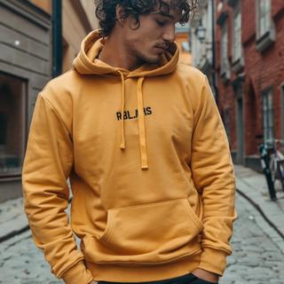 Gele hoodie RBL AMS