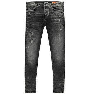 Black Used jeans Aron