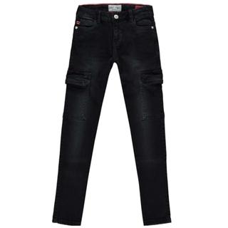 Zwarte cargo jeans Revi