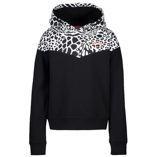 Zwarte hoodie Lisha