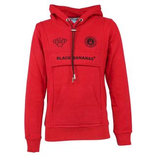 Rode hoodie Anorak Kangaroo