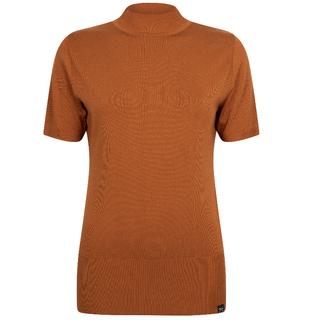 Cognac knit pull Marnix