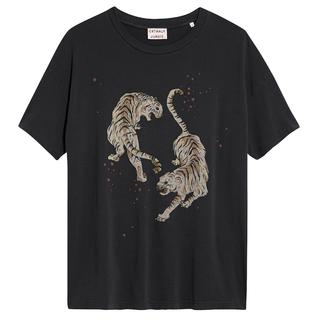 Donkergrijs t-shirt Tigre