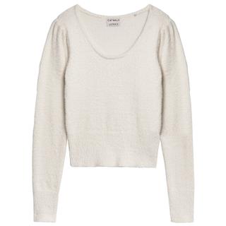 Witte knit Fuzzy Feel