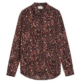 Bruine blouse On the Hunt