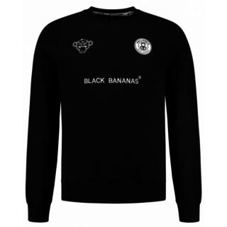 Zwarte trui F.C. Crewneck