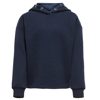 Donkerblauwe hoodie Wendy