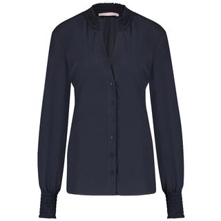 Donkerblauwe blouse Fiene Smoq