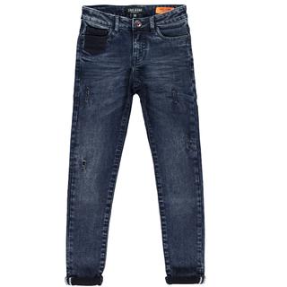 Blauwzwarte jeans Bonar