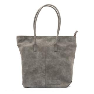 Grijze kartel Natural Bag