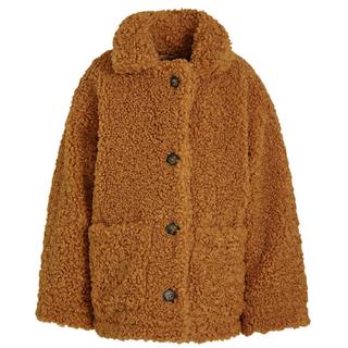 Bruine teddyjacket Mora