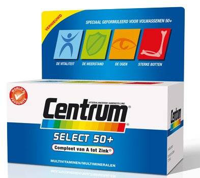 Centrum Multivitamine Select 50+ 180 tabletten-1