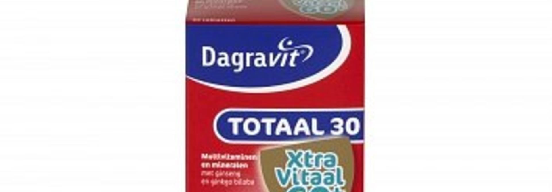 Dagravit Totaal 30 Vitaal 60+ 60 stuks