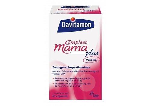 Davitamon Compleet Mama Plus Visolie 60 capsules