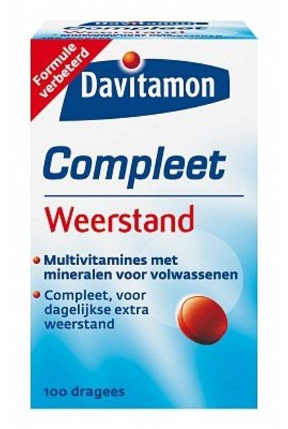 Compleet Vitamine Weerstand 100 dragees