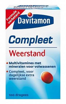 Davitamon Compleet Vitamine Weerstand 100 dragees-1