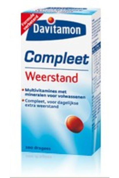 Compleet Vitamine Weerstand 400 dragees