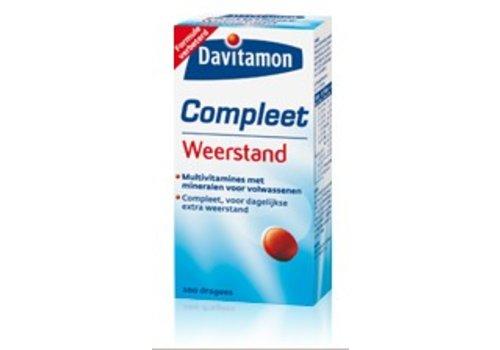 Davitamon Compleet Vitamine Weerstand 400 dragees