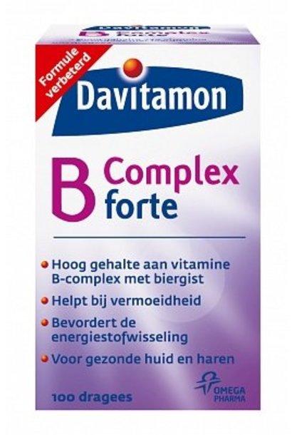 Vitamine B Complex Forte Dragees 100 stuks