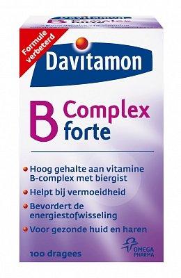 Davitamon Vitamine B Complex Forte Dragees 100 stuks-1